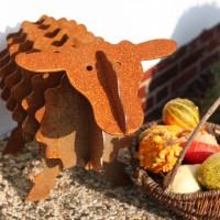 Garten-skulptur-Edelrost
