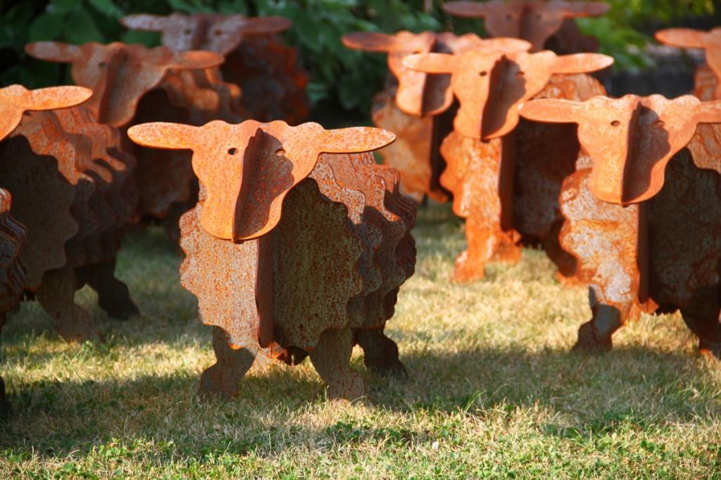Schöne Gartendeko aus Metall für Ihren Garten