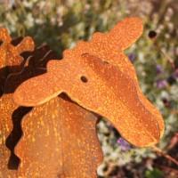 Gartenskulptur-Edelrost-eisen